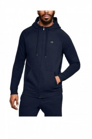 Hanorac under armour rival fleece fz hoodie albastru
