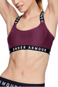 Bustiera sport wordmark strappy sports bra mov