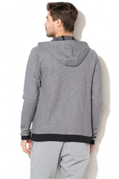 Hanorac barbati under armour unstoppable 2x knit fz hoodie gri