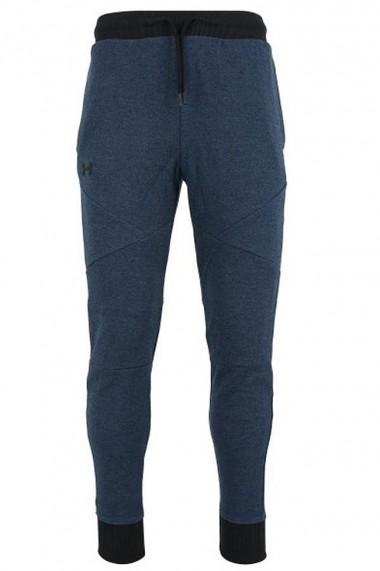 Pantaloni sport barbati under armour doubleknit albastru