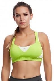 Bustiera sport femei adidas gt supernova bra verde