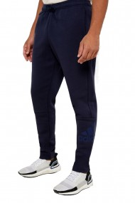 Pantaloni sport barbati adidas mh bos albastru