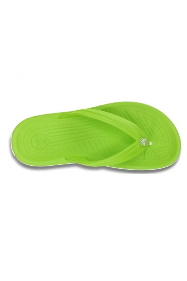 Slapi crocs crocband flip verde