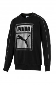Hanorac barbati puma chains sweat negru