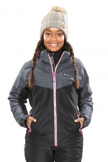 Geaca ski femei dlx crista negru