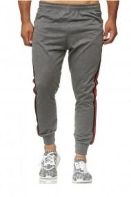 Pantaloni sport barbati cinc eno-3018 gri inchis