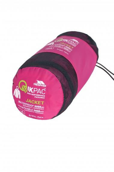 Jacheta unisex trespass qikpack roz