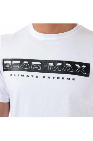 Tricou barbati bearmax glacier white
