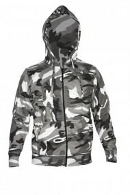 Hanorac barbati game technical apparel zip hoodie urban gri