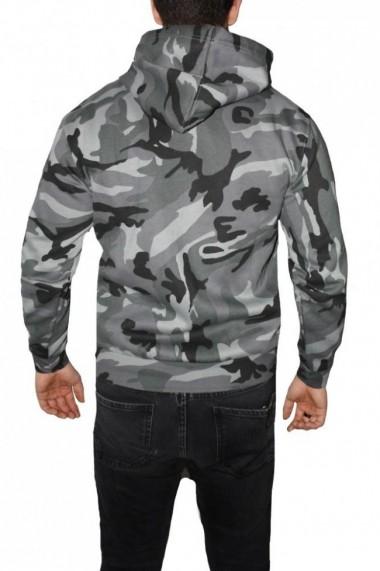Hanorac barbati game technical apparel zip hoodie midnight negru