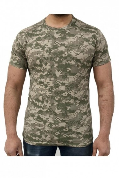 Tricou barbati game tehnical apparel ss tshirt digital desert verde