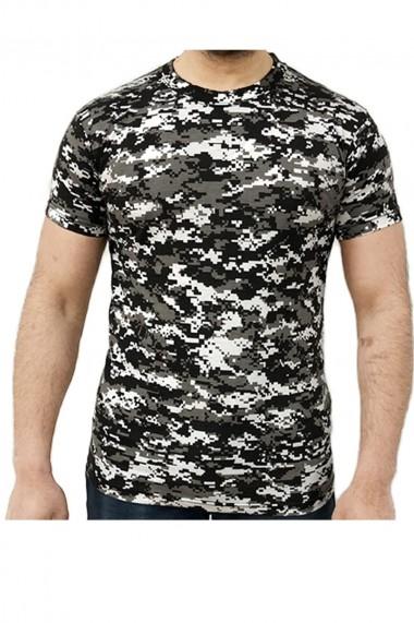 Tricou barbati game tehnical apparel ss tshirt digital urban gri