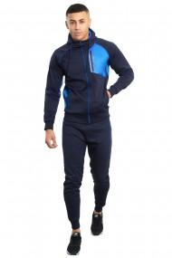 Trening barbati j5 fashion ts2367 funnel bleumarin
