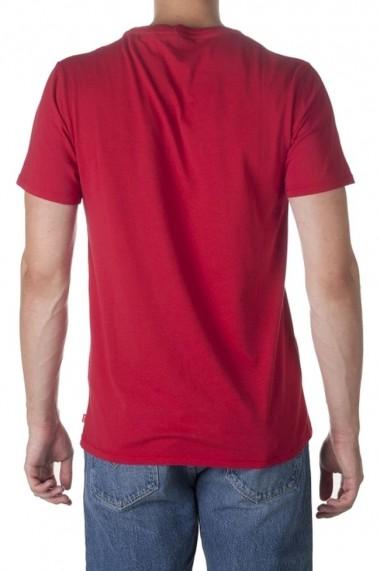 Tricou barbati levis housemark rosu
