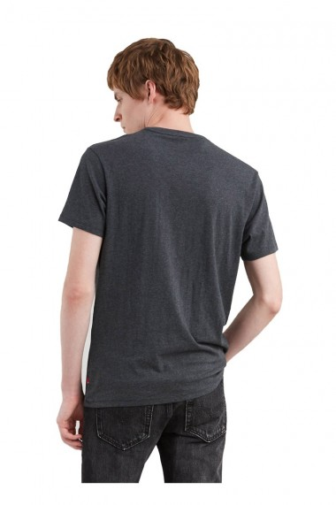 Tricou barbati levis housemark gri inchis
