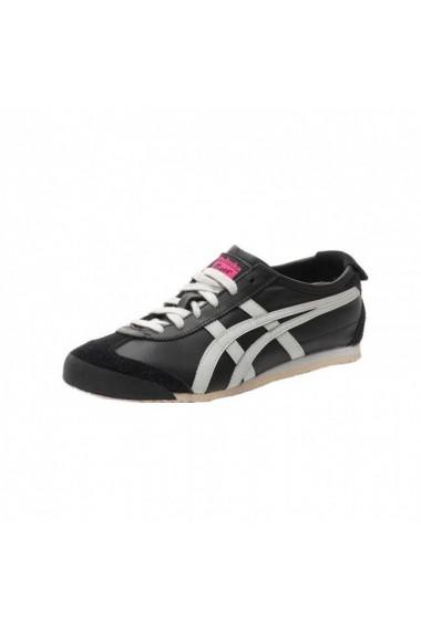 Pantofi sport unisex asics mexico 66 negru gri