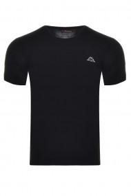 Tricou barbati kappa 304kzno negru