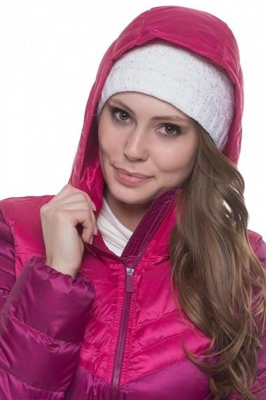 Geaca puf femei nike cascade roz
