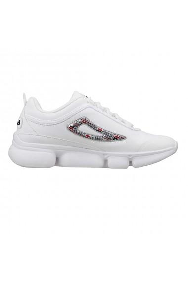 Pantofi sport femei fila wisteria 2 evo print alb