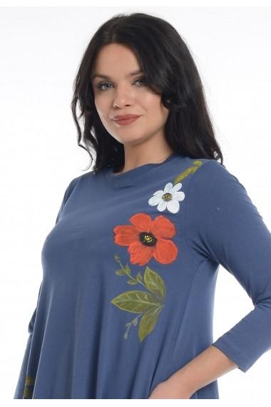 Rochie Eranthe BB60 Albastra