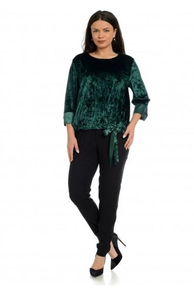 Bluza Eranthe Velvet Verde