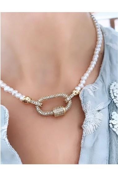 Colier perle baroque Emma