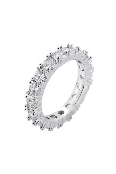 Inel tennis Kelly Silver crystal-Nr. 10