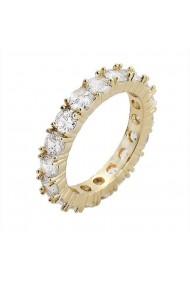 Inel tennis Kelly Gold crystal-Nr. 10