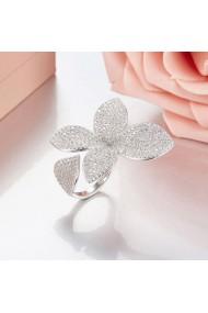Inel Lily reglabil-Argintiu