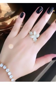 Inel Lily reglabil-Auriu