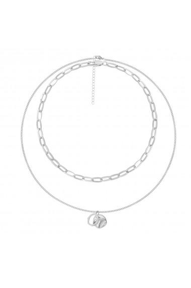 Set coliere Scarlett-Argintiu