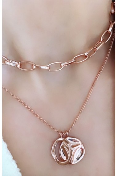 Set coliere Scarlett-Rose Gold