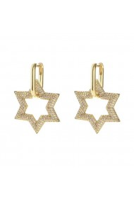 Cercei Star Shine Gold