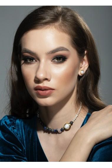 Cercei Trudy perle naturale