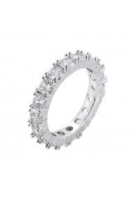 Inel tennis Kelly Silver crystal-Nr. 6