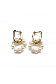 Cercei Daisy perle naturale