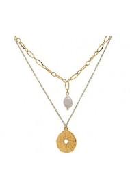 Colier Chiara Gold cu perle