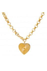 Colier Deea gold inox placat cu aur