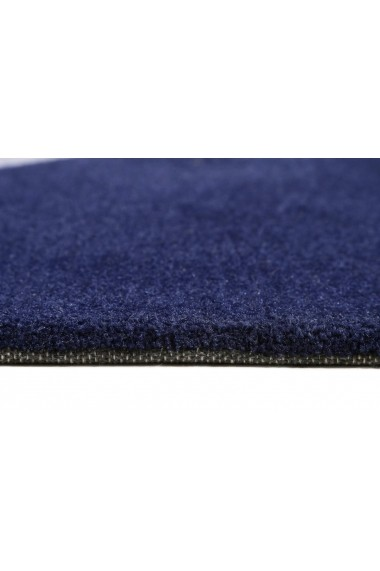 Covor Esprit Modern & Geometric Corro , Patrat, Albastru, 100x100