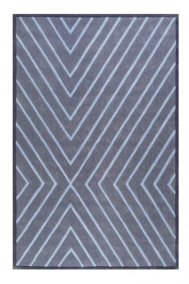 Covor Esprit Modern & Geometric V. Flip, Albastru, 160x230