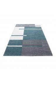 Covor Decorino Patchwork Detroit Albastru 120x170 cm