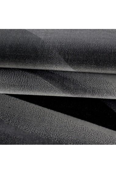 Covor Decorino Modern & Geometric Nashville Negru 120x170 cm