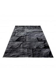 Covor Decorino Modern & Geometric Phoenix Negru 80x150 cm