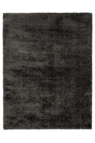 Covor Decorino Shaggy Velvet Negru 60x230 cm