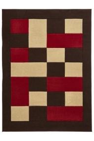 Covor Decorino Modern & Geometric Odesa Maro/Rosu 160x220 cm