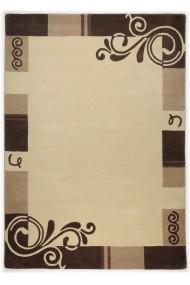 Covor Decorino Modern & Geometric Daisy Lana Bej 90x160 cm