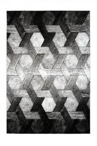 Covor Decorino Modern & Geometric Pavia Gri 80x150 cm