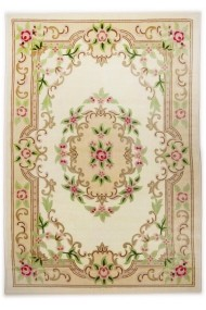 Covor Decorino Oriental & Clasic Ire Crem 50x80 cm