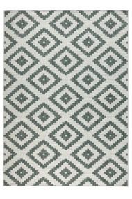 Covor Bougari Modern & Geometric Twin Verde 80x150 cm