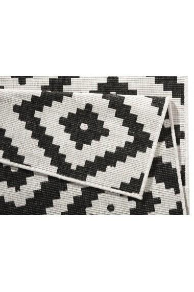 Covor Bougari Modern & Geometric Twin Negru 80x250 cm